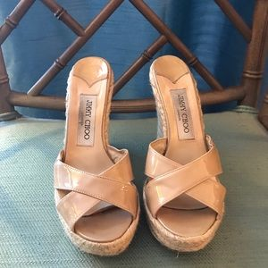 Jimmy Choo Wedges 4 inch heel